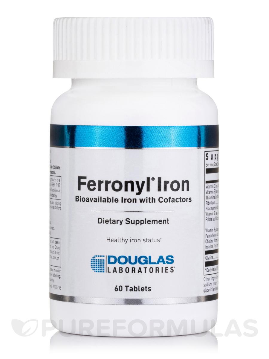 Ferronyl® Iron - 60 Tablets