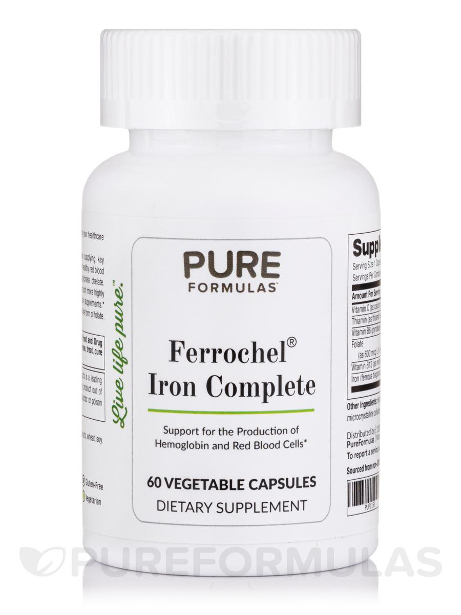 Ferrochel® Iron Complete - 60 Vegetable Capsules