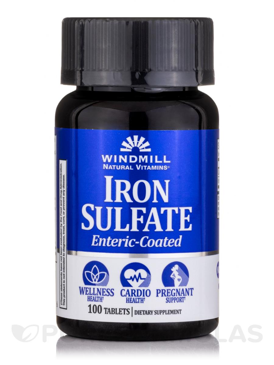 Fe Tabs (Ferrous Sulfate) - 100 Tablets