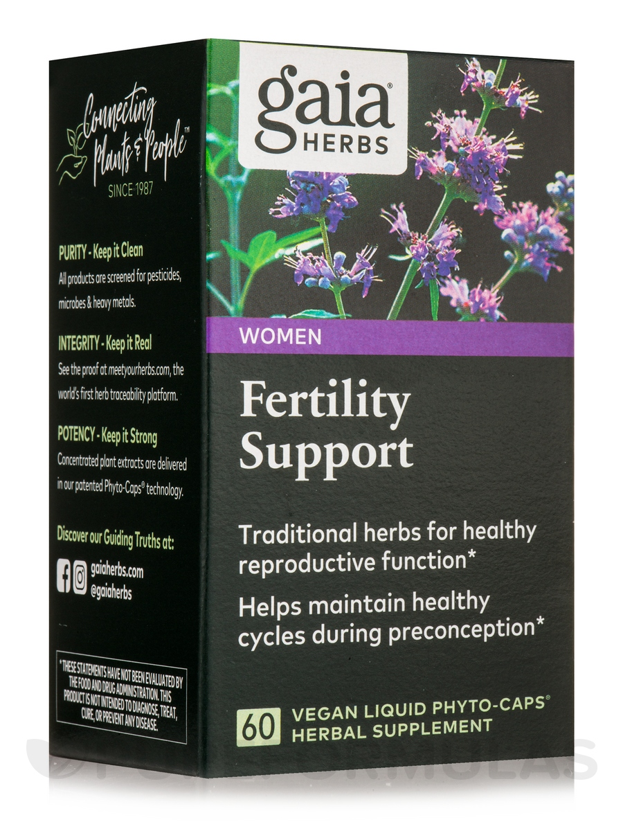 Fertility Support - 60 Vegan Liquid Phyto-Caps®