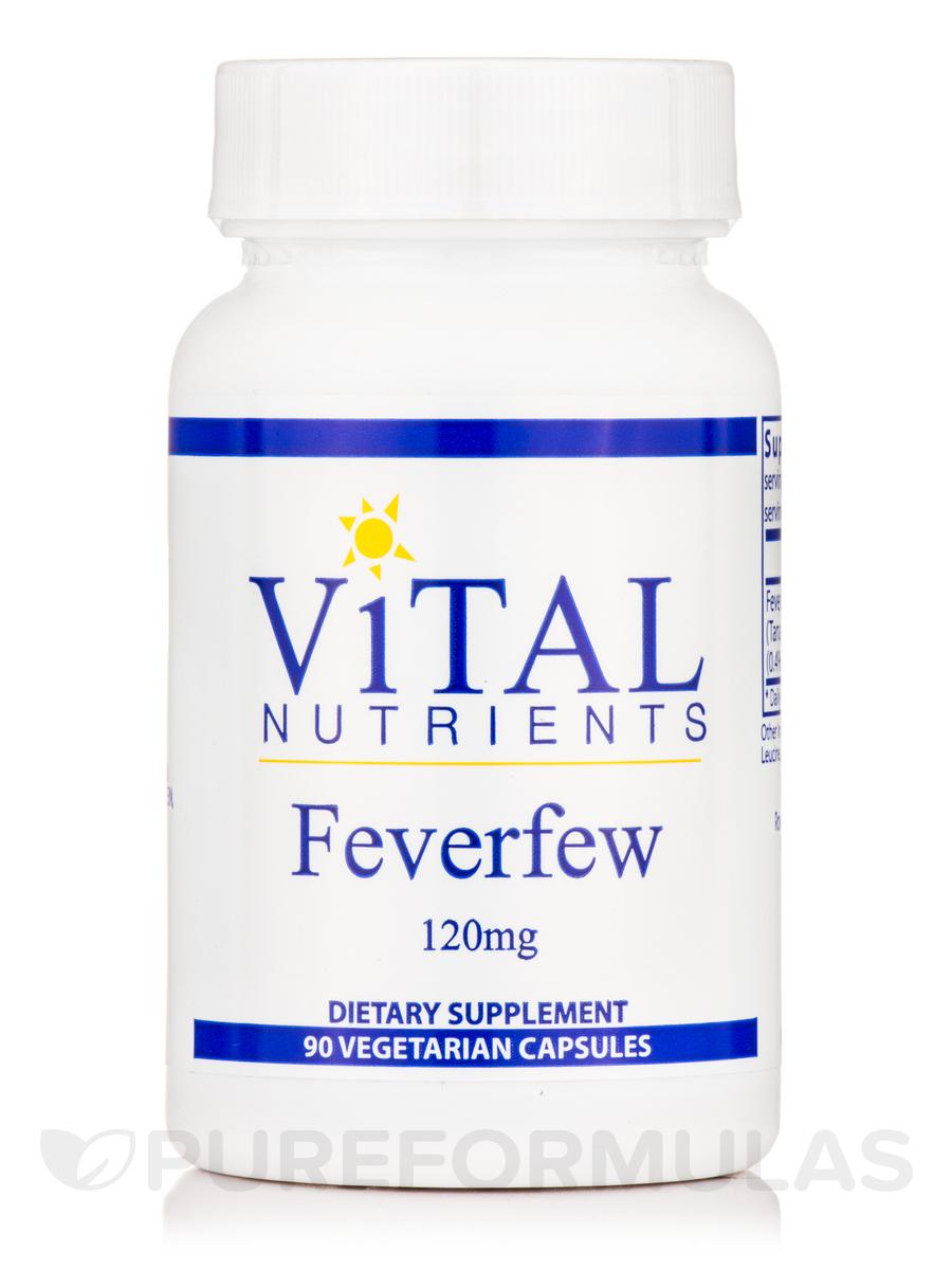 Feverfew 120 mg - 90 Vegetable Capsules
