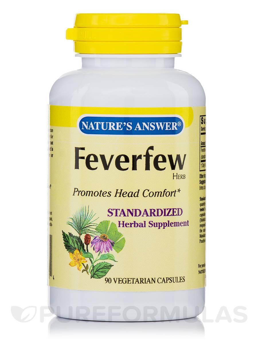 Feverfew Herb - 90 Vegetarian Capsules