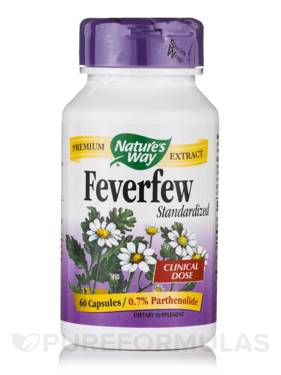 Feverfew Standardized - 60 Capsules