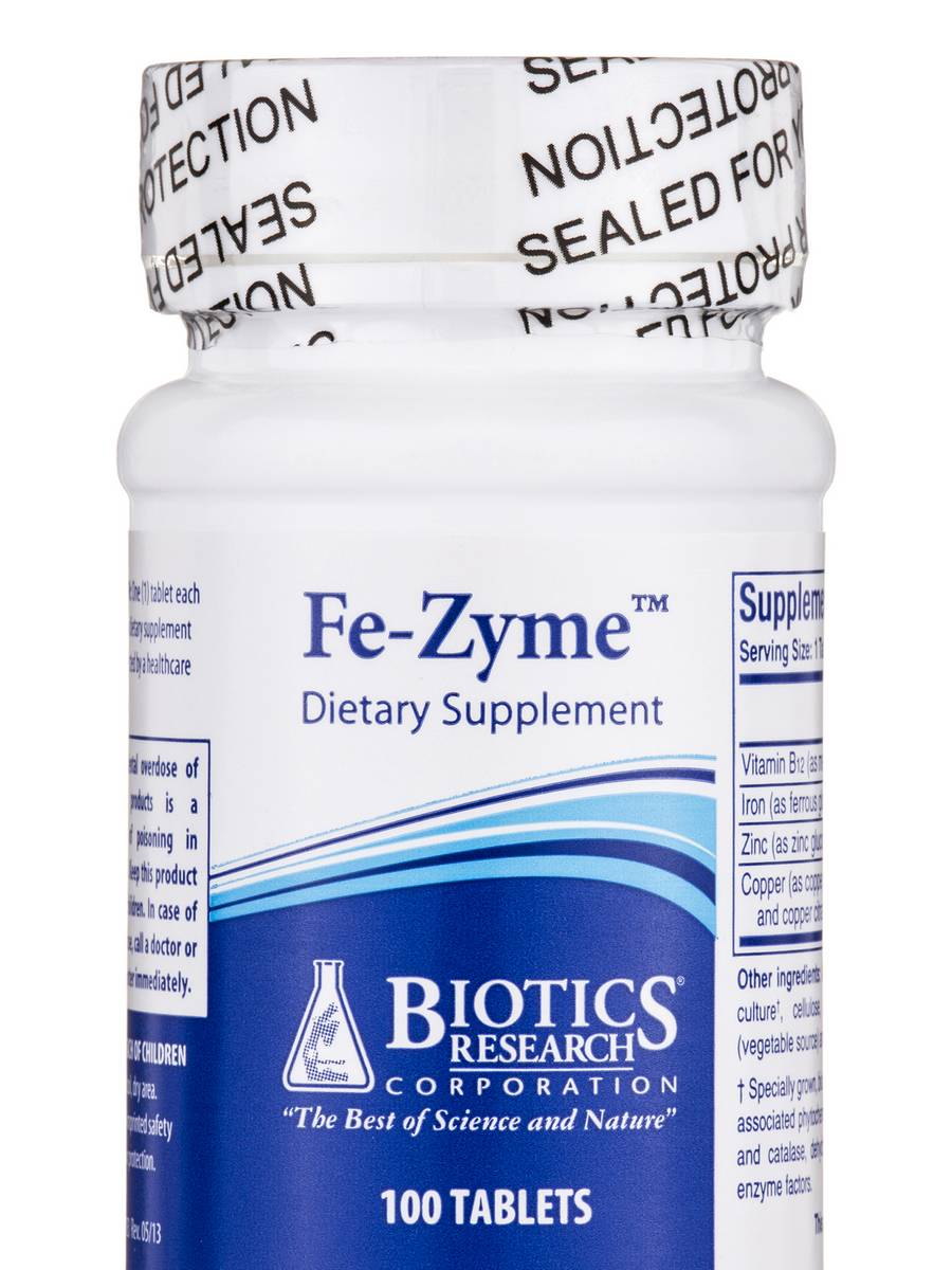 Fe-Zyme - 100 Tablets