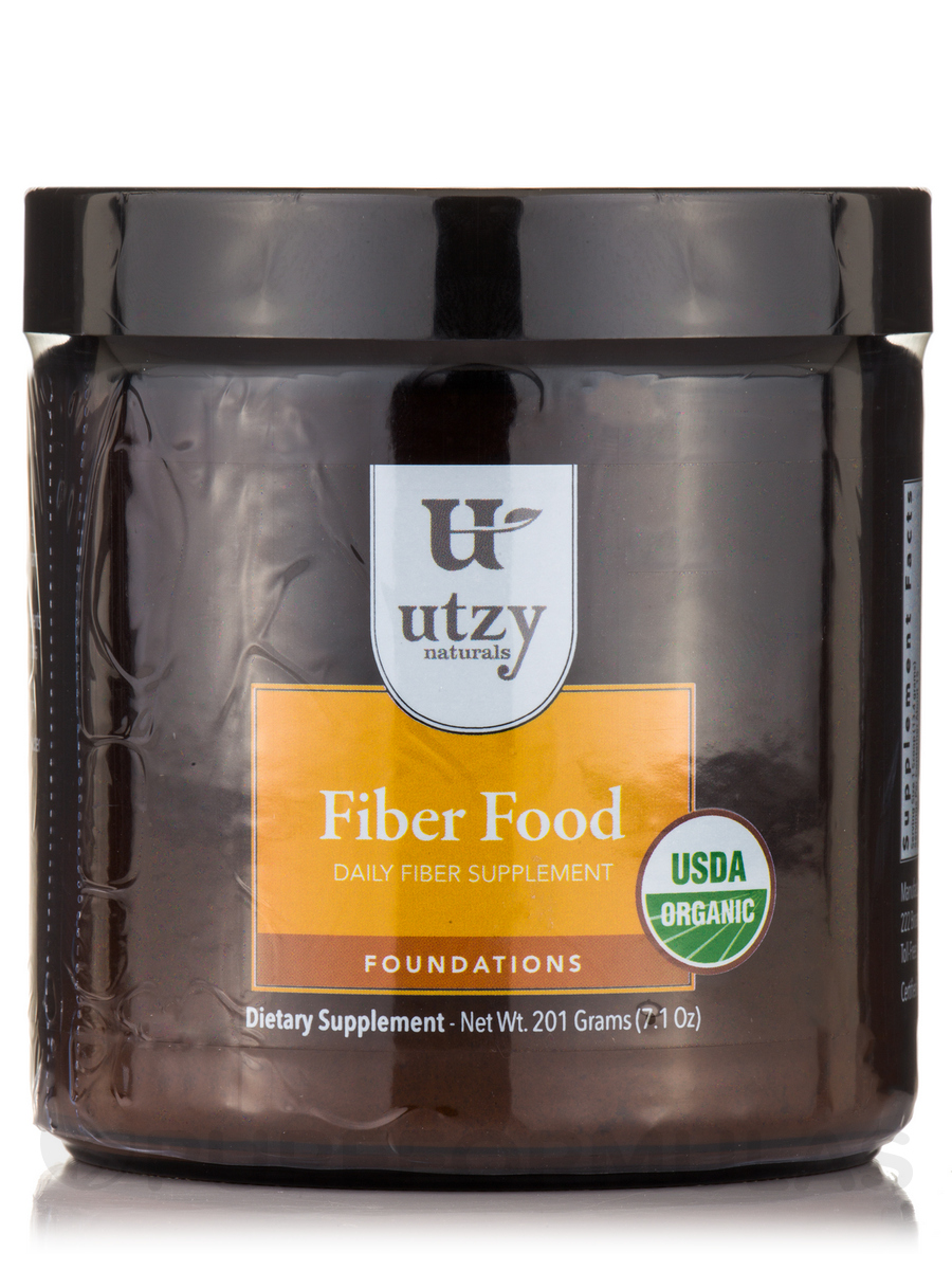 Fiber Food, Organic Daily Fiber Supplement - 7.1 oz (201 Grams)
