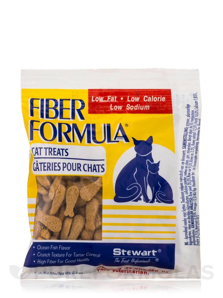 Fiber Formula® Cat Treats - 2.1 oz (60 Grams)