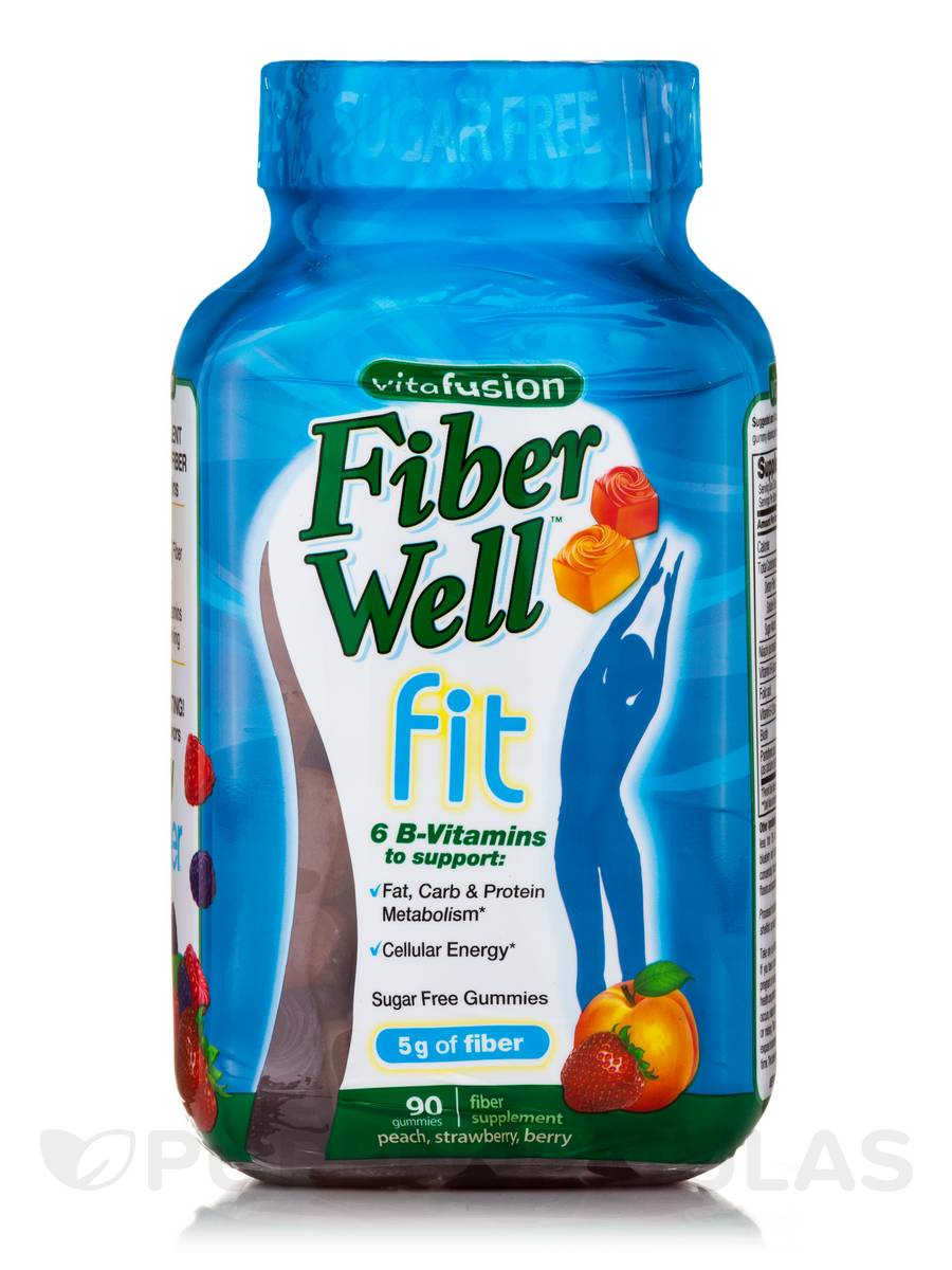 Fiber Well™ Fit, Assorted Flavors - 90 Gummies