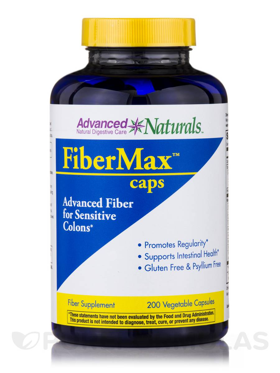 FiberMax Caps - 200 Vegetable Capsules