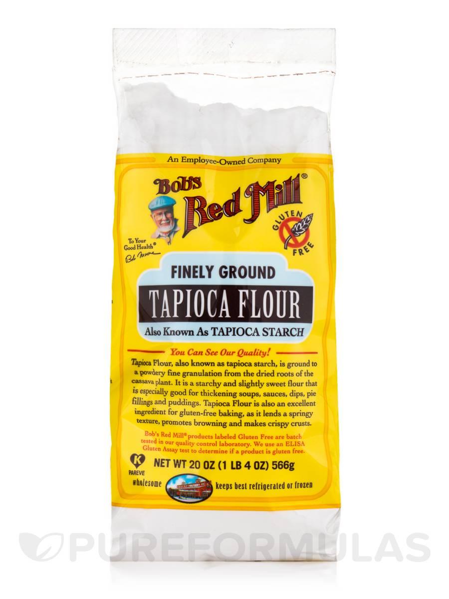 Finely Ground Tapioca Flour - 20 oz (566 Grams)