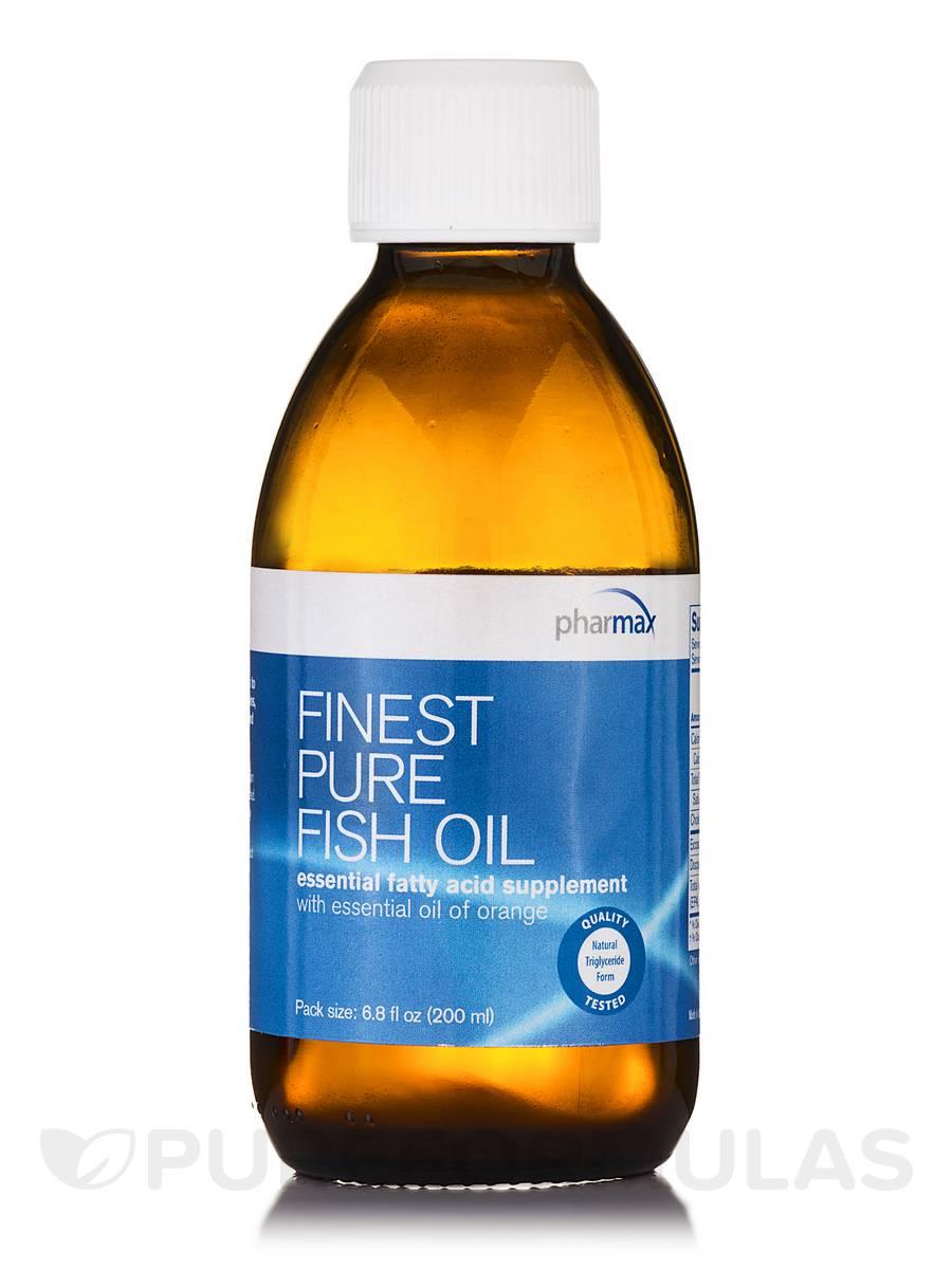 Finest Pure Fish Oil (Orange) - 6.8 fl. oz (200 ml)