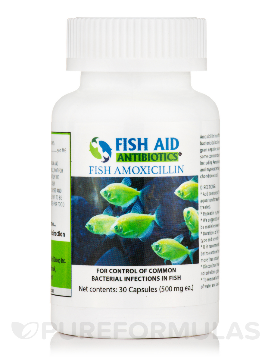 Fish Amoxicillin 500 mg - 30 Capsules