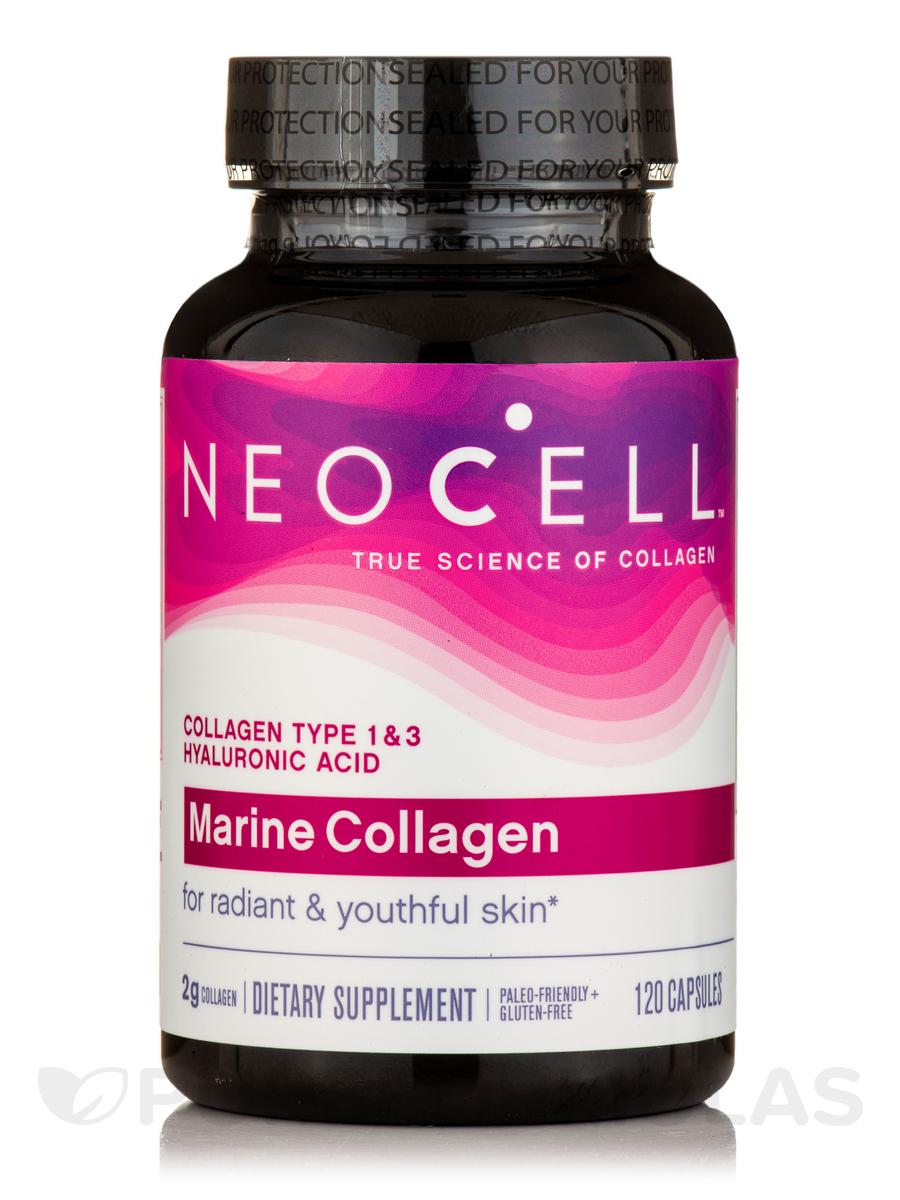 Fish Collagen+HA - 120 Capsules