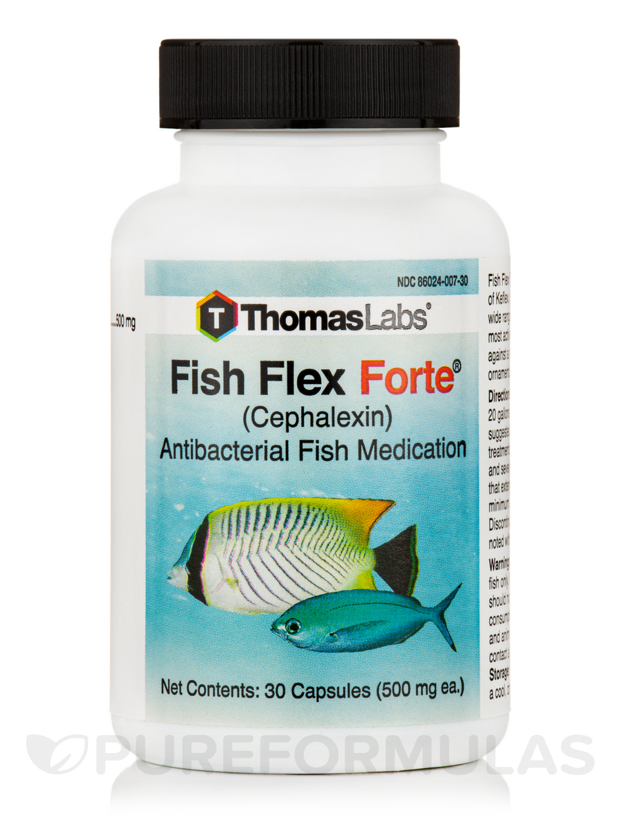Fish flex forte 500 mg 30 capsules for Thomas labs fish mox forte