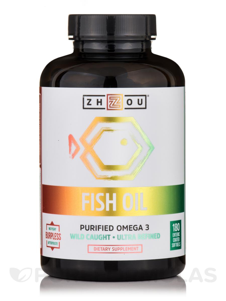 Fish Oil - 180 Softgels