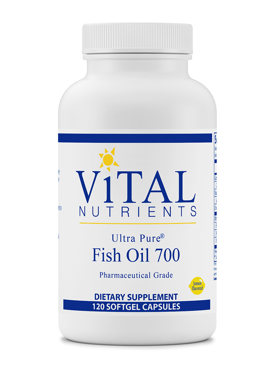 Ultra Pure® Fish Oil 700, Lemon Flavor - 120 Softgel Capsules