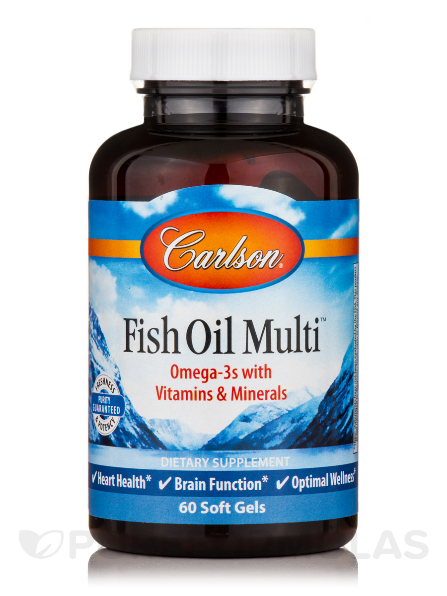 Fish Oil Multi - 60 Soft Gels