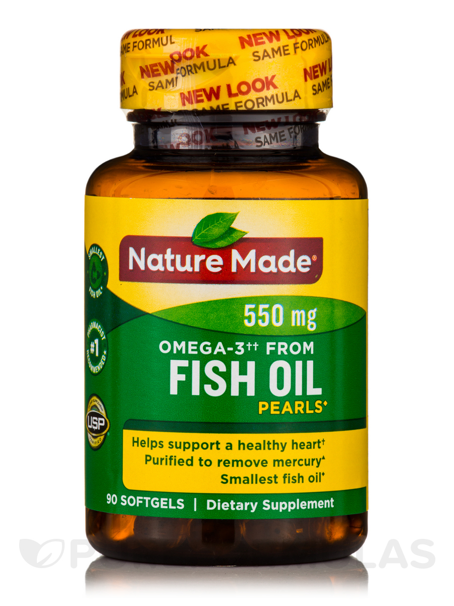 Fish Oil Pearls 500 mg - 90 Softgels