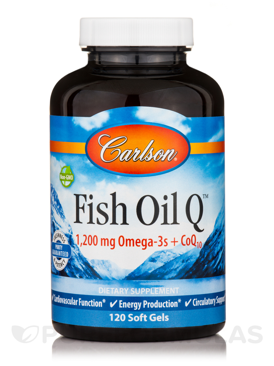 Fish Oil Q™ - 120 Soft Gels
