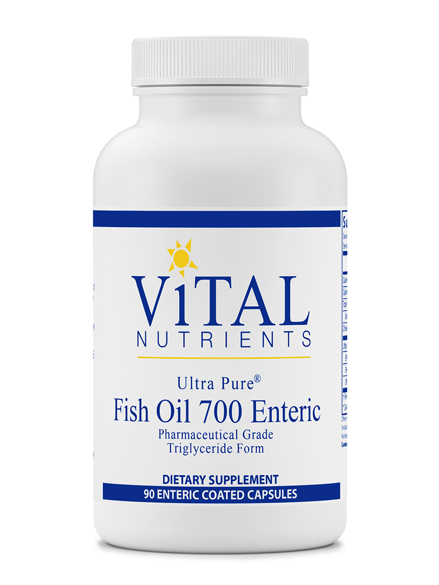 Ultra Pure Fish Oil 700 - 90 Enteric Coated Capsules