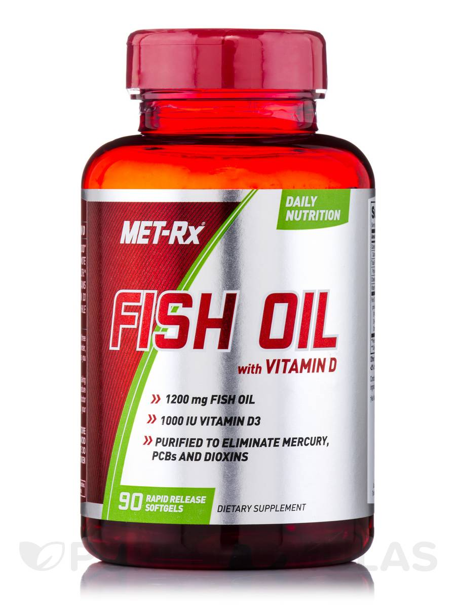 Fish oil with vitamin d 90 softgels for Fish oil vitamin d