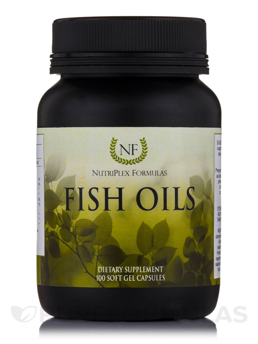 Fish Oils - 100 Softgels