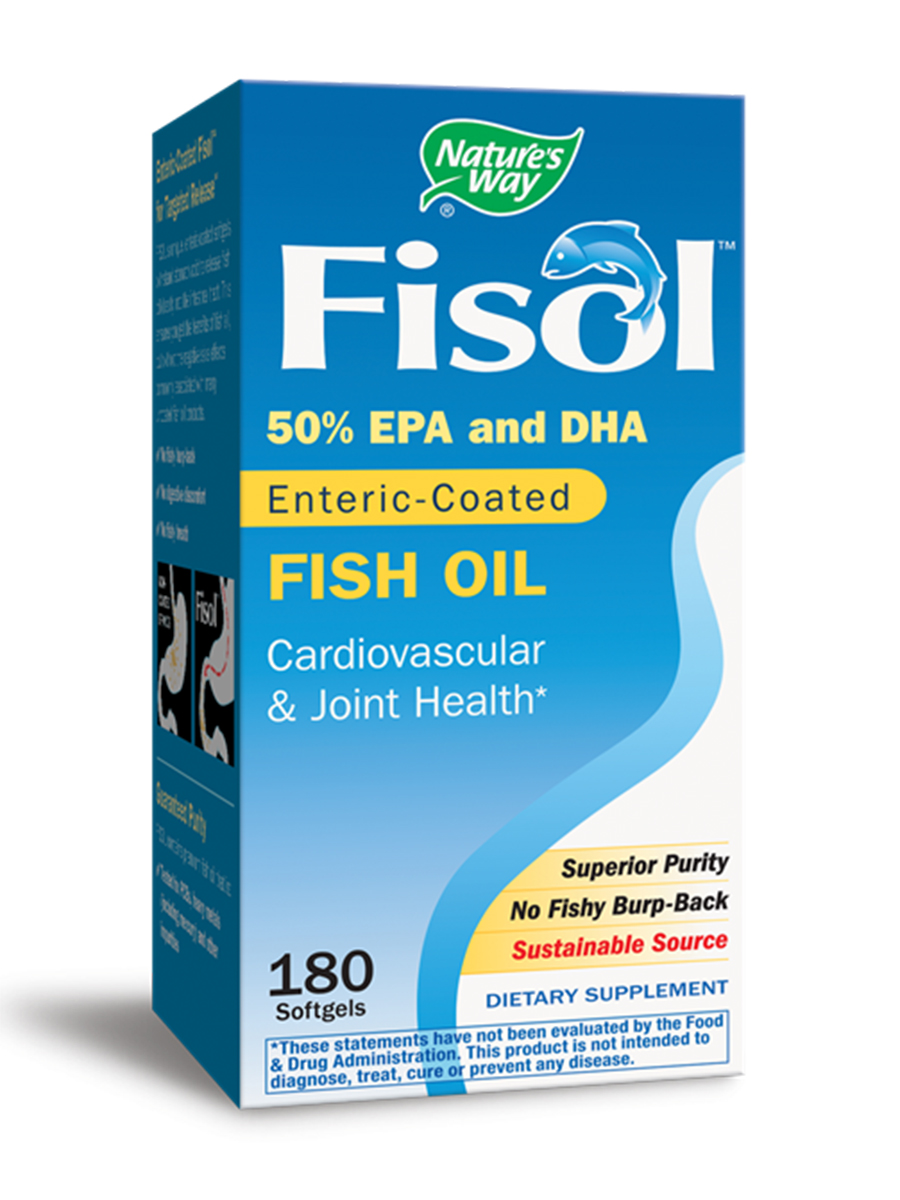 Fisol Fish Oil 500 mg - 180 Softgels