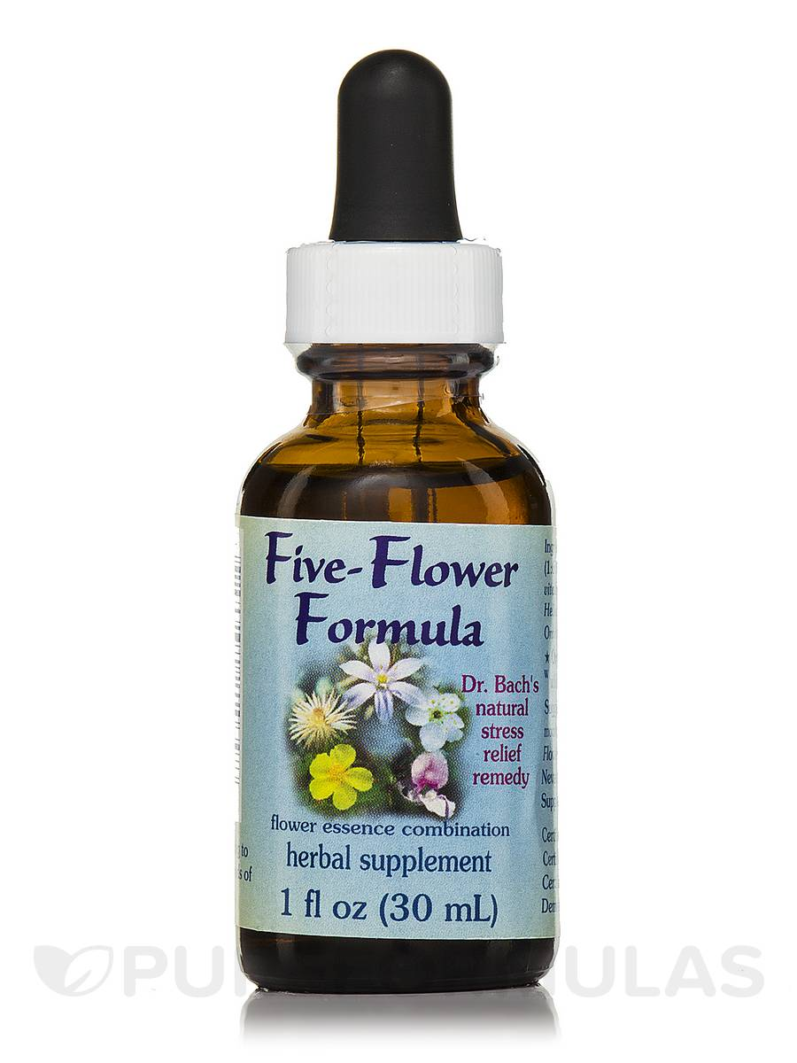 Five-Flower Formula Dropper - 1 fl. oz (30 ml)