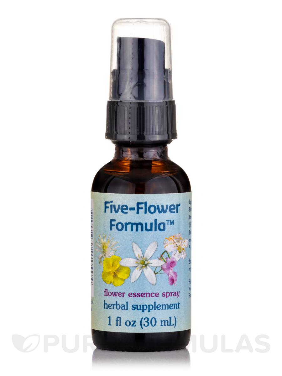 Five-Flower Formula (Spray Top) - 1 fl. oz (30 ml)