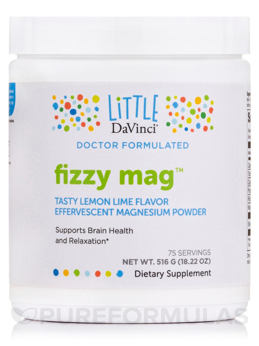 Fizzy Mag™, Lemon-Lime Flavor - 18.22 oz (516 Grams)