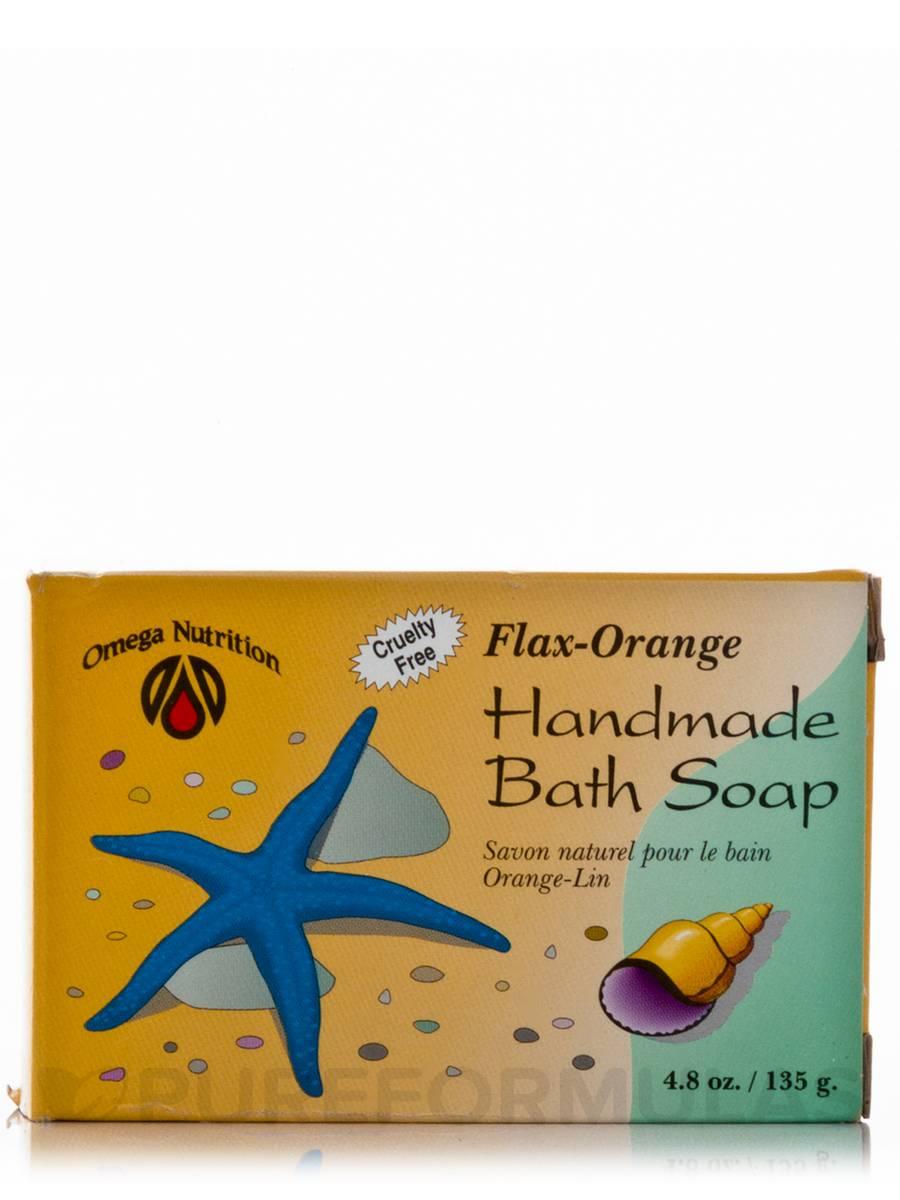 Flax Handmade Bath Soap - 4.8 oz (135 Grams)