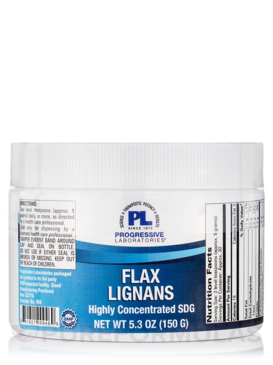 Flax Hull Lignans - 5.3 oz (150 Grams)