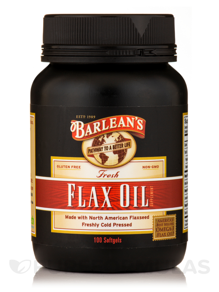Fresh Flax Oil - 100 Softgels