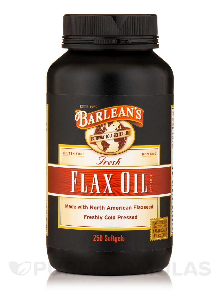 Fresh Flax Oil - 250 Softgels