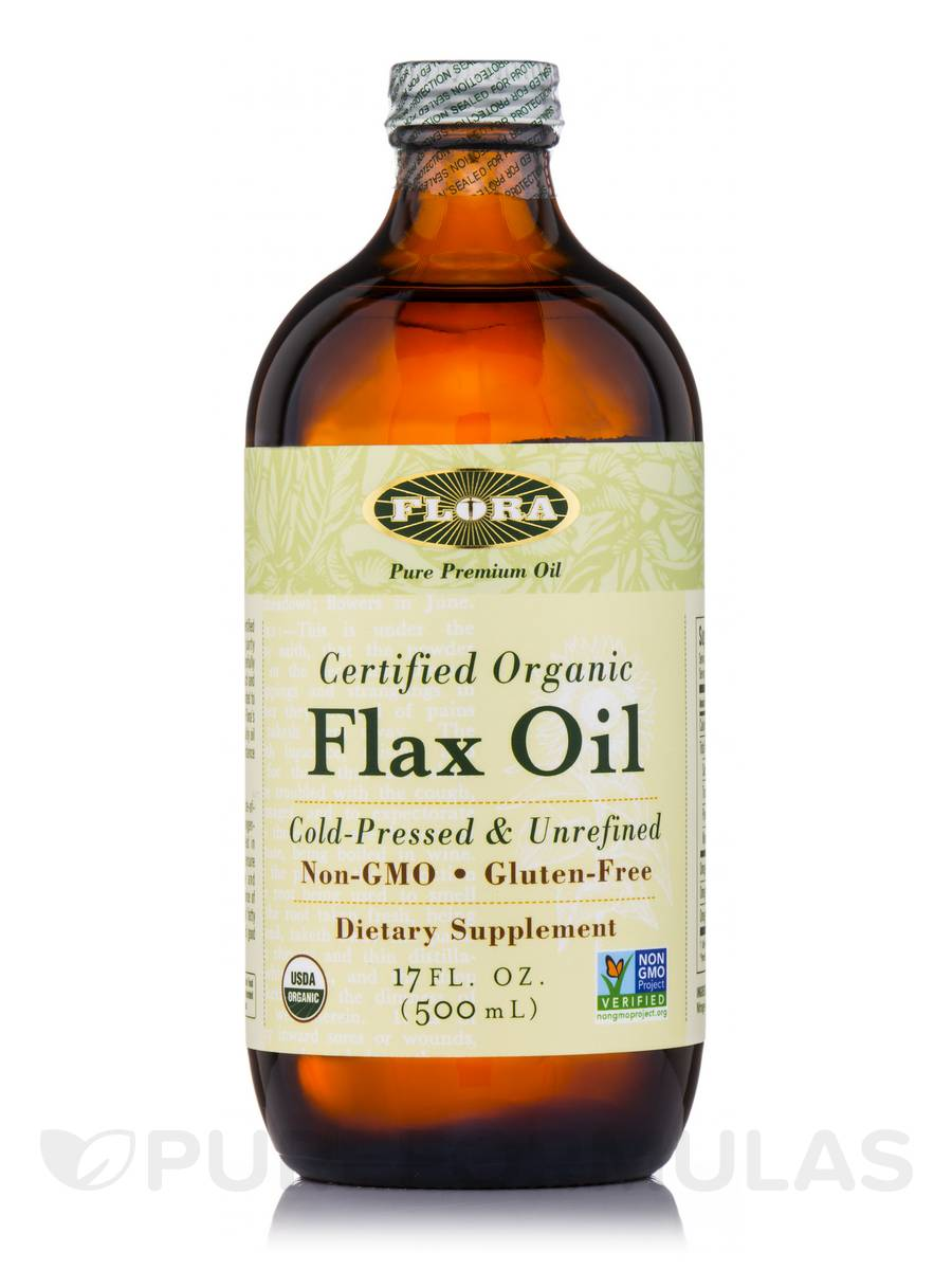 Flax Oil - 17 fl. oz (500 ml)