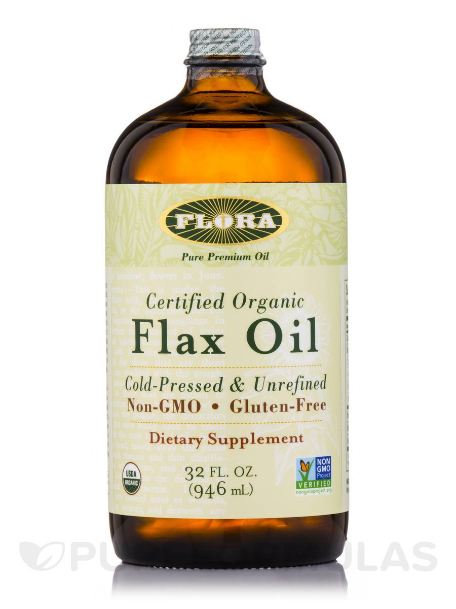 Flax Oil - 32 fl. oz (946 ml)