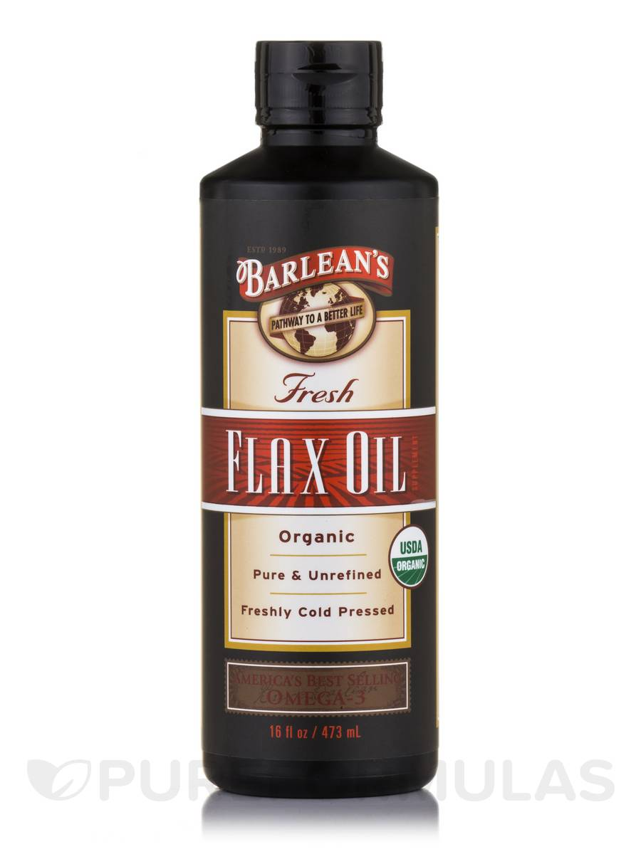 Fresh Flax Oil - 16 fl. oz (473 ml)