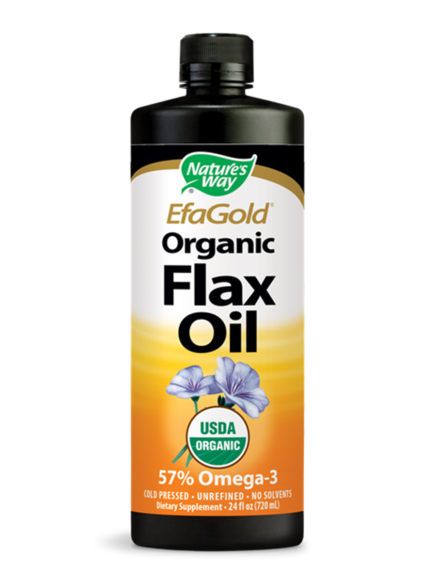 Flax Oil Liquid - 24 fl. oz (710 ml)