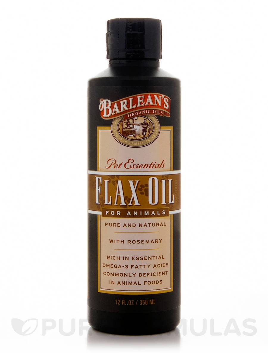Flax Oil for Animals - 12 fl. oz (350 ml)