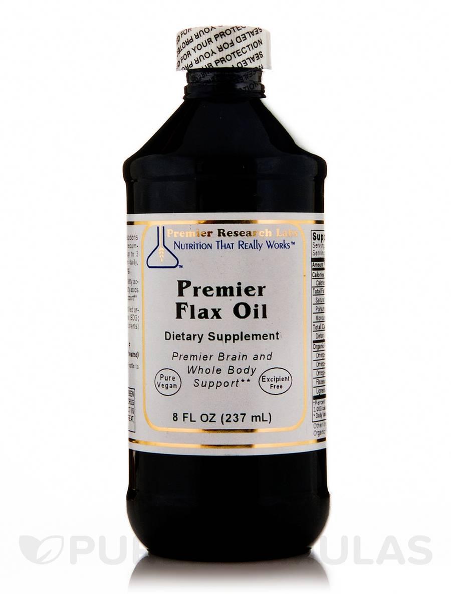 Premier Flax Oil - 8 fl. oz (237 ml)