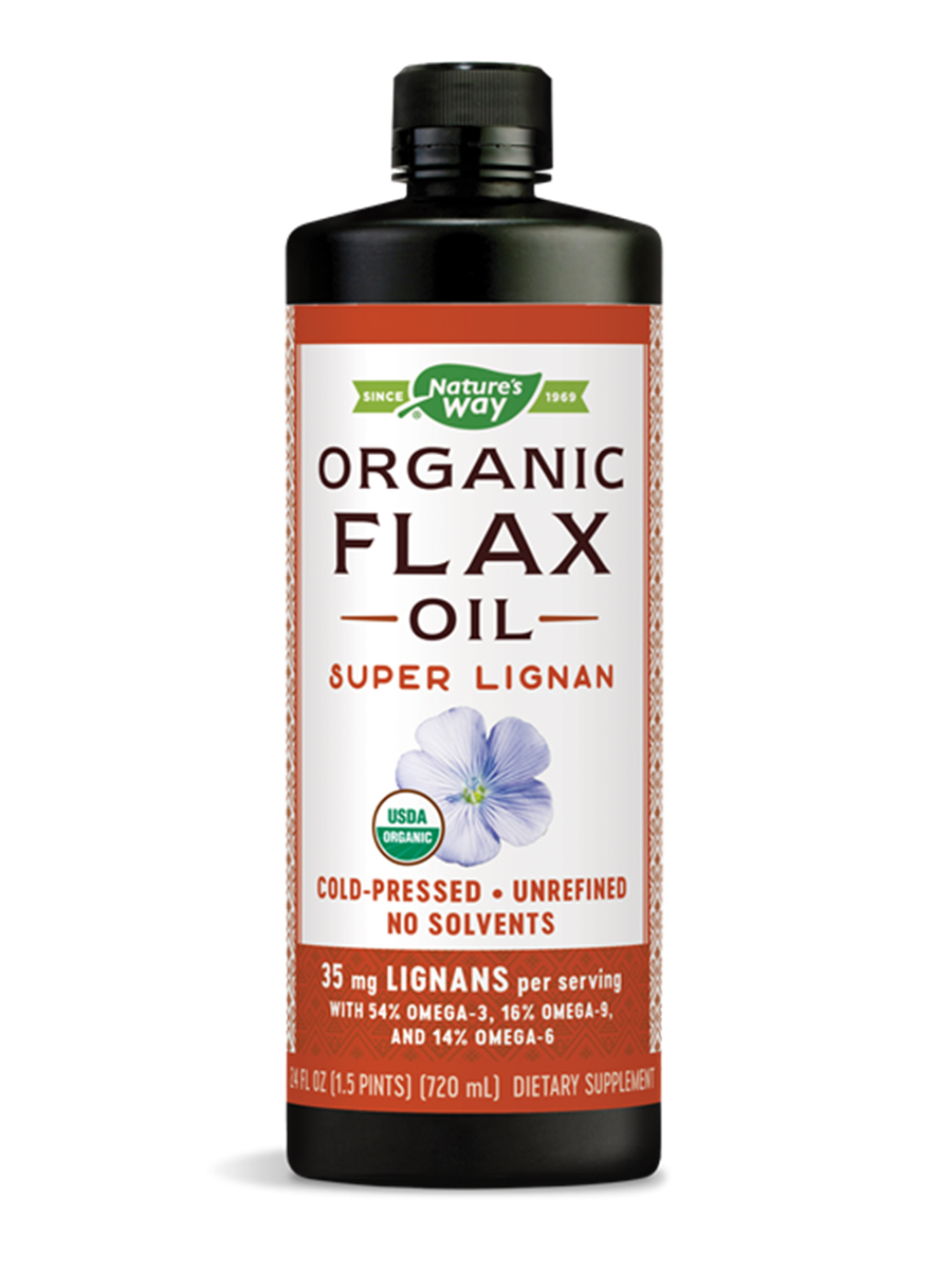 Flax Oil Super Lignan Liquid - 24 fl. oz (710 ml)