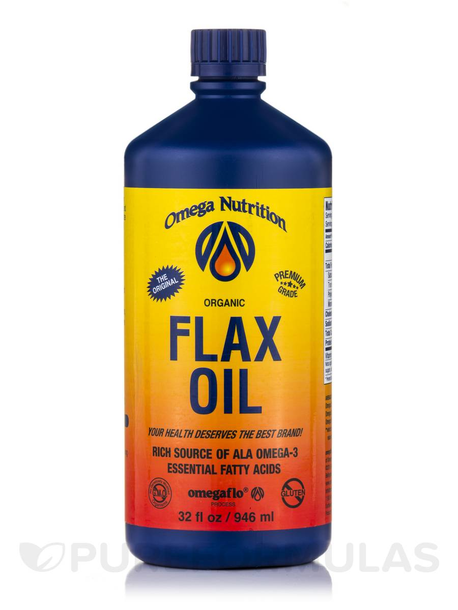 Flax Oil (Organic) - 32 fl. oz (946 ml)