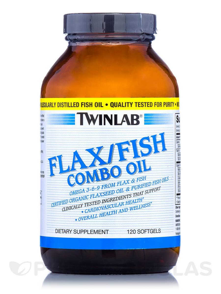 Flax/Fish Combo Oil - 120 Softgels