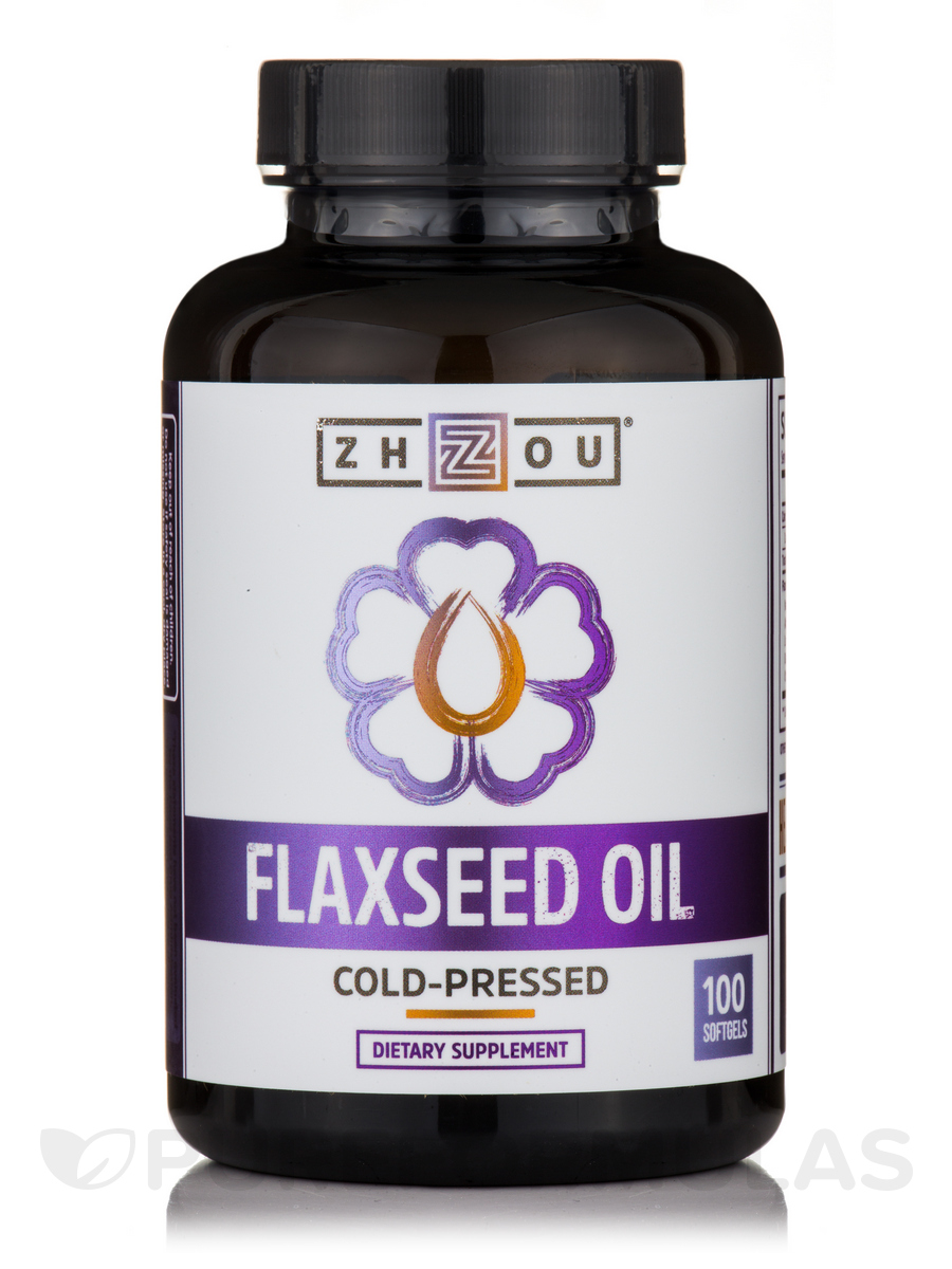 Flaxseed Oil - 100 Softgels