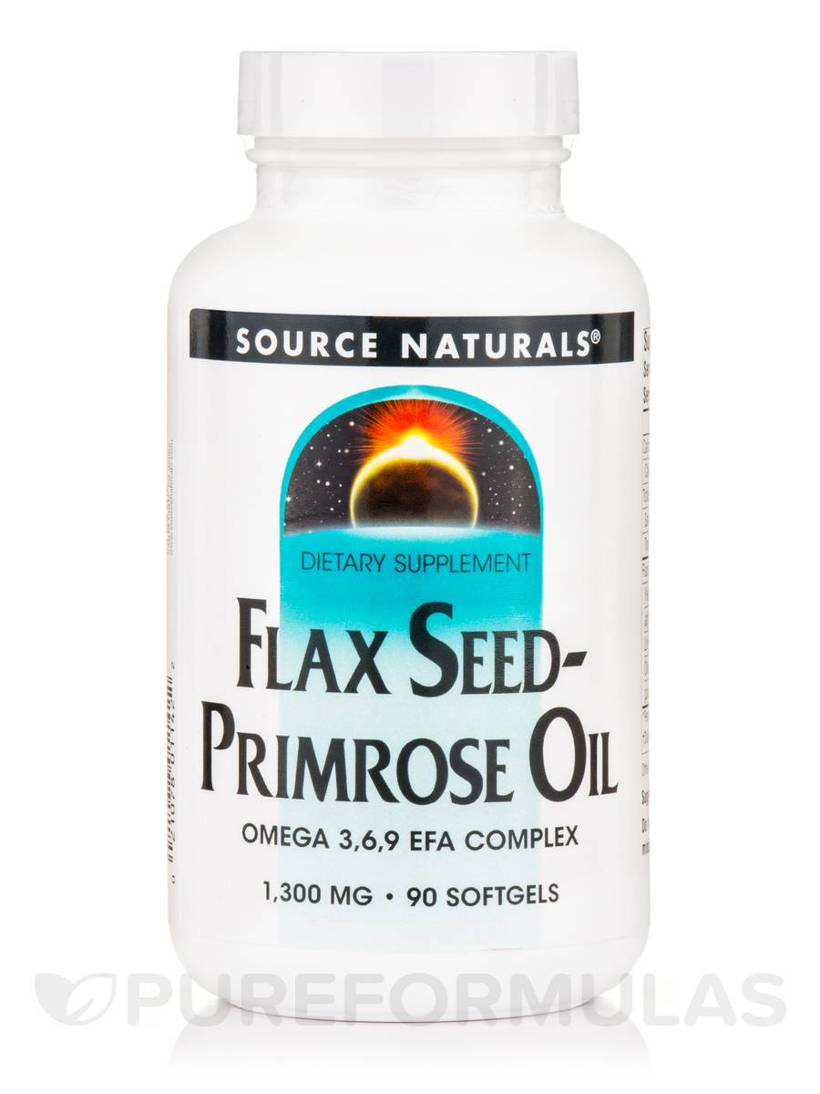 FlaxSeed Primrose Oil 1,300 mg - 90 Softgels