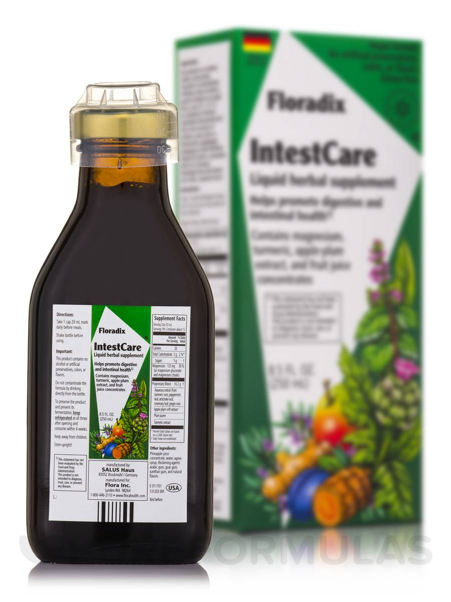 Floradix Intestcare - 8.5 fl. oz (250 ml)