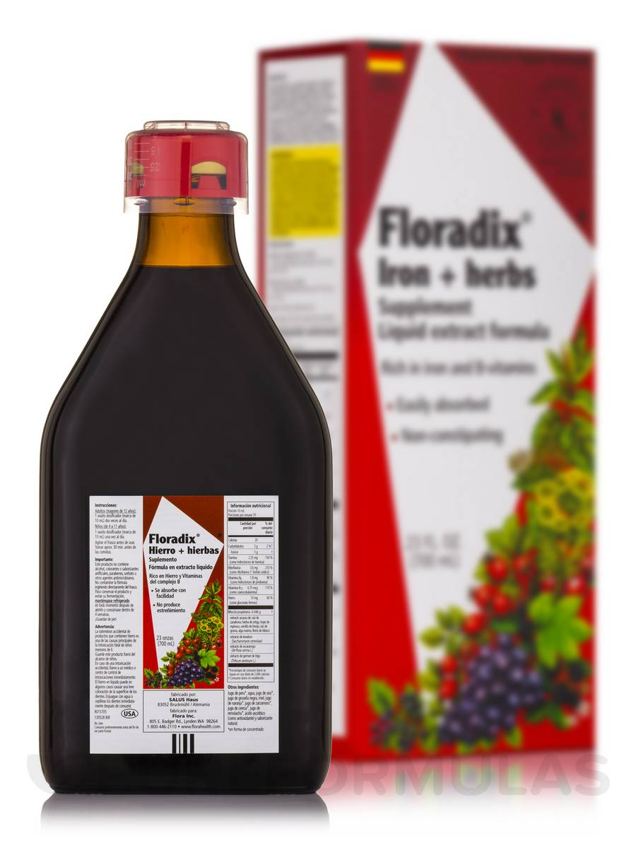Floradix® Iron + Herbs - 23 fl. oz (700 ml)