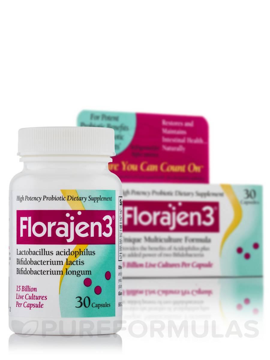 Florajen 3 - 30 Capsules