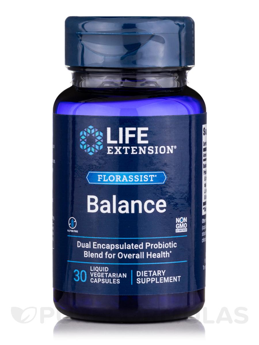 FlorAssist™ Probiotic - 30 Liquid Vegetarian Capsules