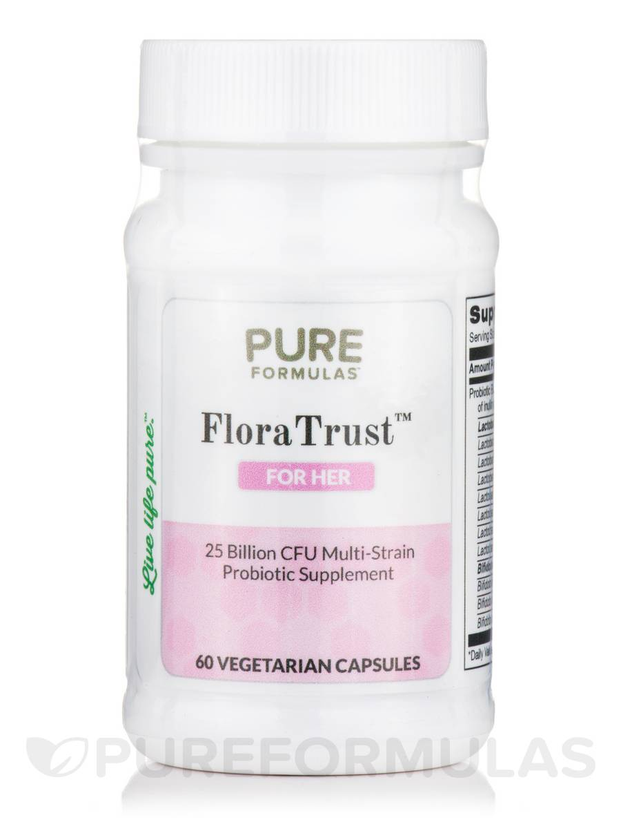 FloraTrust™ For Her - 60 Vegetarian Capsules