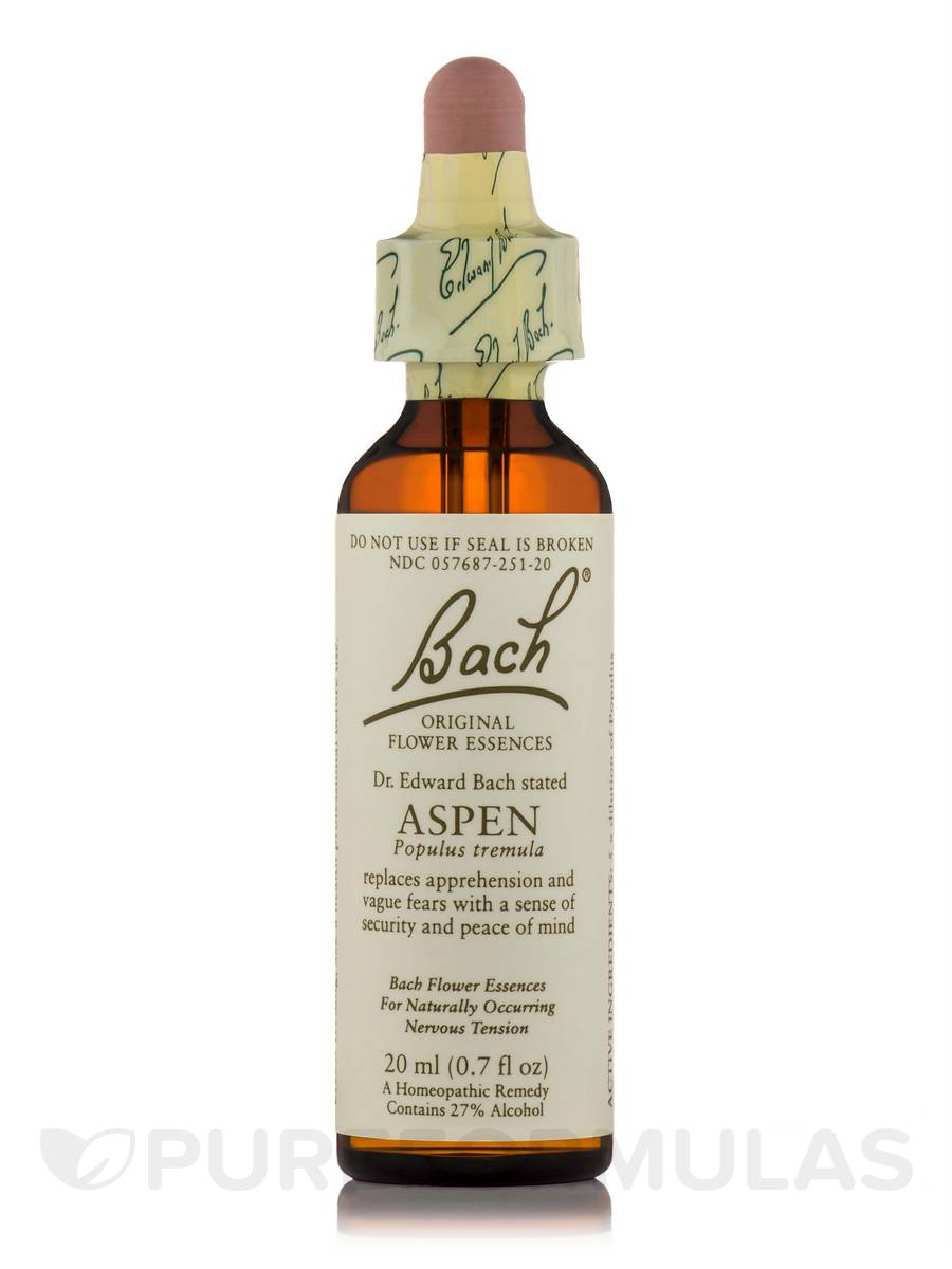 Flower Essence Aspen - 0.7 fl. oz (20 ml)